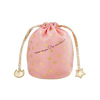 shu uemura粉色丝绸化妆包