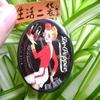 on10樱桃巧克力防晒圆罐润唇膏SPF15