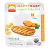happybaby糙米番薯鸡肉泥