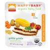 happybaby小米水果蔬菜火鸡泥