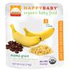 happybaby香蕉黑豆藜麦泥