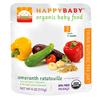 happybaby蔬菜籽粒苋泥