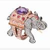 Boucheron大象钻石戒指