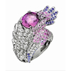 Boucheron孔雀钻石戒指