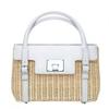 Tiffany & Co�r尚�h保竹制��包型女士手提包