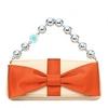 Tiffany & Co橙色蝴蝶�Y女士�r尚宴��包