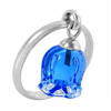 Lalique手工制造925银100%纯正晶体戒指
