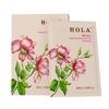 HOLA玫瑰平衡补水面膜贴