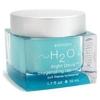 h2o+8杯水保湿修护晚霜