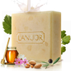 L'ANUOR新西�m羊奶蜂蜜保�褡甜B皂(沐浴皂)