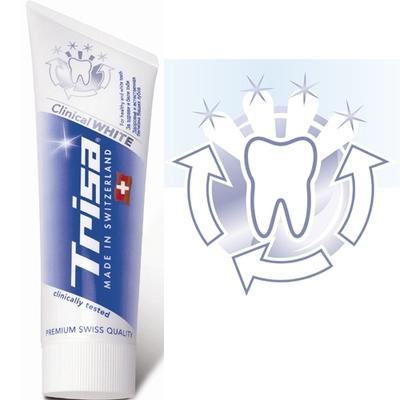 Trisa健齿亮白牙膏