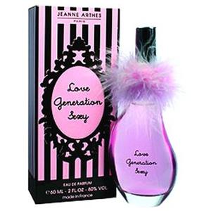 JEANNE ARTHESLove Generation Sexy爱的性感一代女性香水