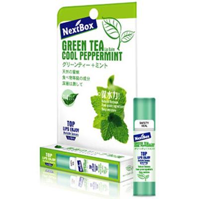 魔盒绿茶薄荷润唇膏