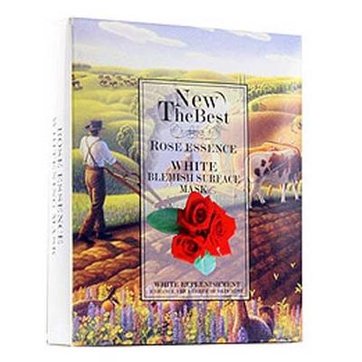 纽比士玫瑰精油美白淡斑面膜貼