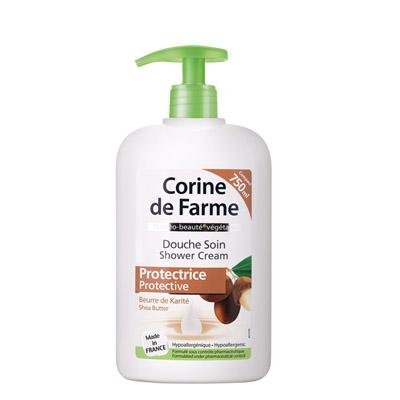 法国黎之芙Corine de Farme保湿沐浴乳-牛油果